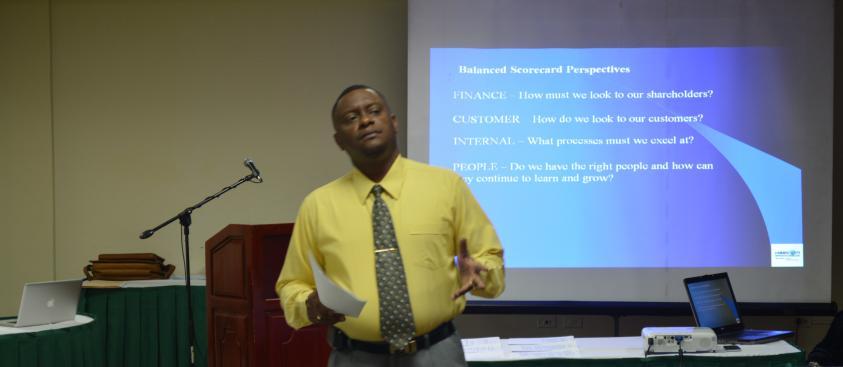 Balanced Scorecard Training Workshop National Insurance Board Trinidad