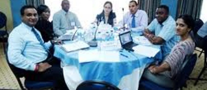 Group Planning Session GEF Workshop Antigua